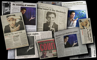 Vancouver Magician in the Papers